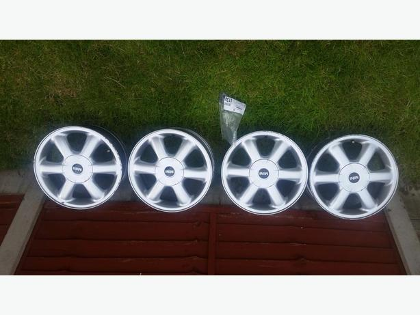 4 Genuine BMW Mini Alloy Wheels