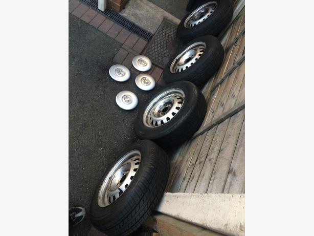 vauxhall astra/van wheels and trims