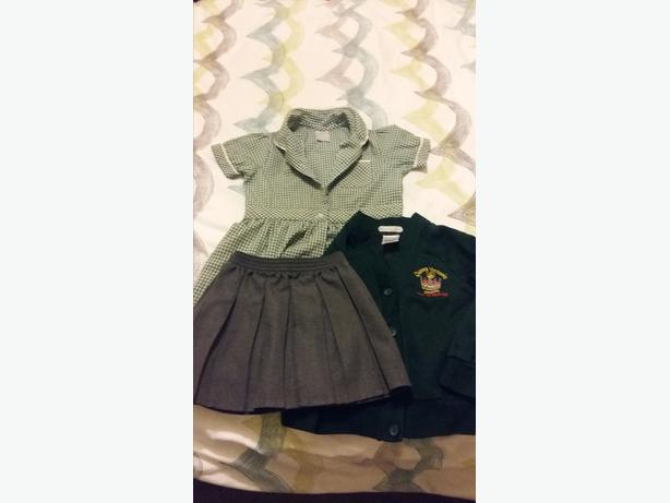 Girls Uniform Queen Victoria Cardigan, Summer Dress & Skirt.