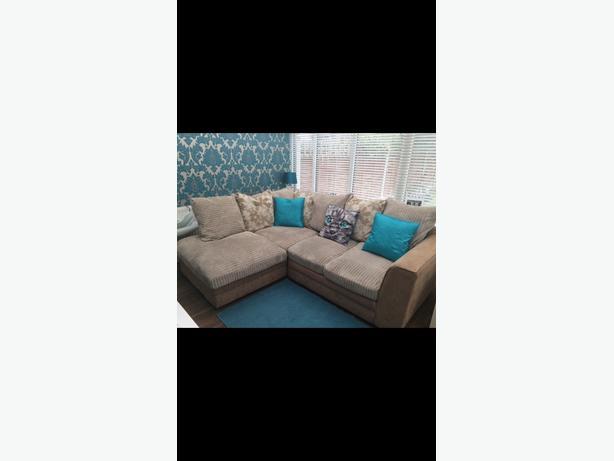 Corner sofa beige