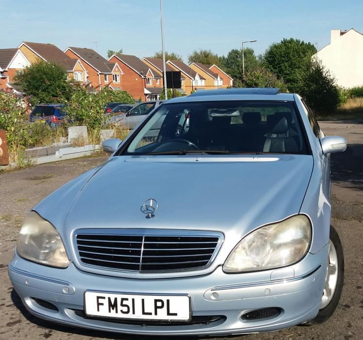 Mercedes s320 cdi in mint condition long mot tax hpi for Mercedes benz s320 price