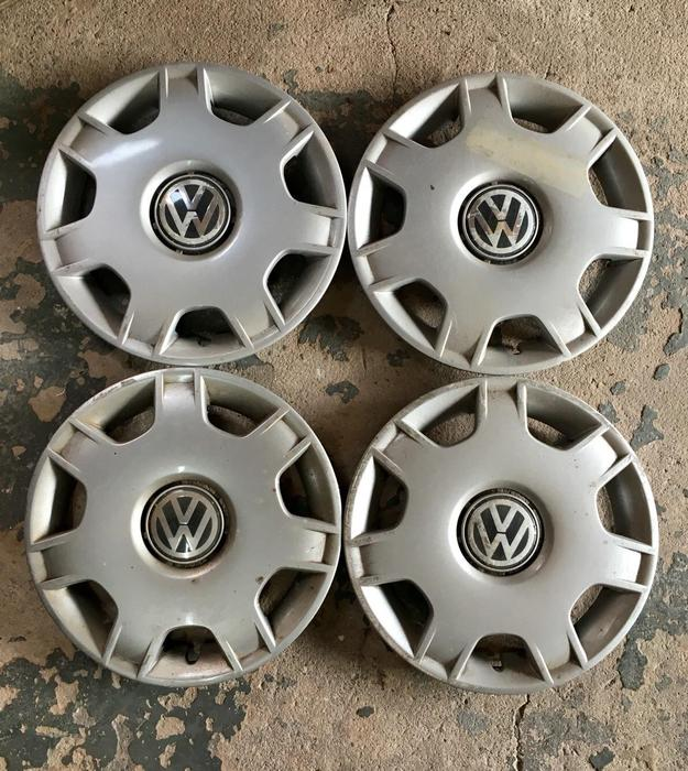 """Bmw Youngstown: VW POLO/LUPO 14"""" GENUINE SET OF 4 WHEEL TRIMS FOR SALE"""