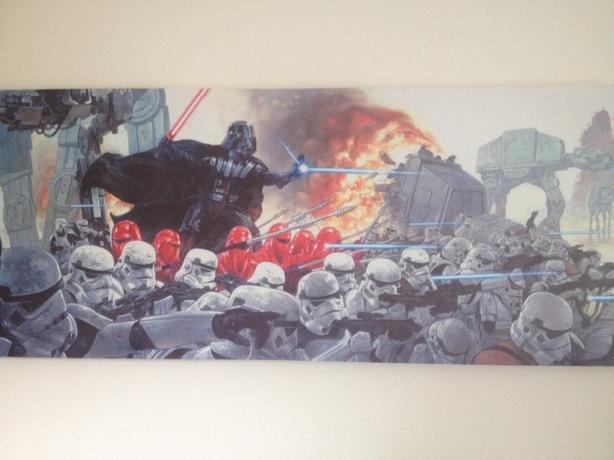 Large Star Wars Canvas Print