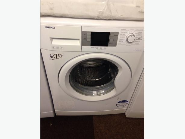 BEKO LCD DISPLAY 8KG 1200 SPIN WASHING MACHINE8