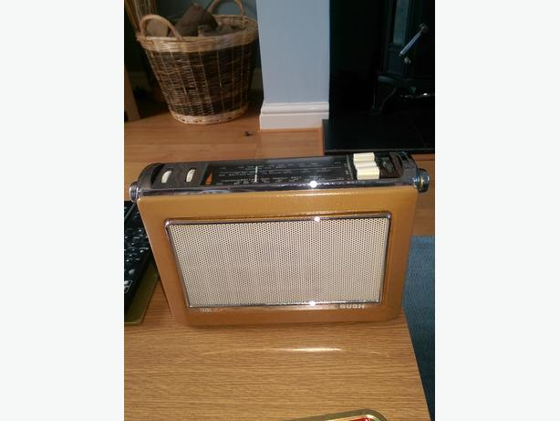 1965 bush retro radio