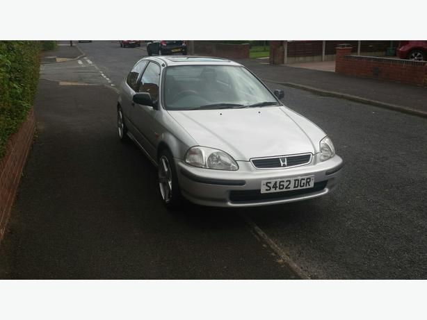 Cheap Honda civic 1.4 petrol great car