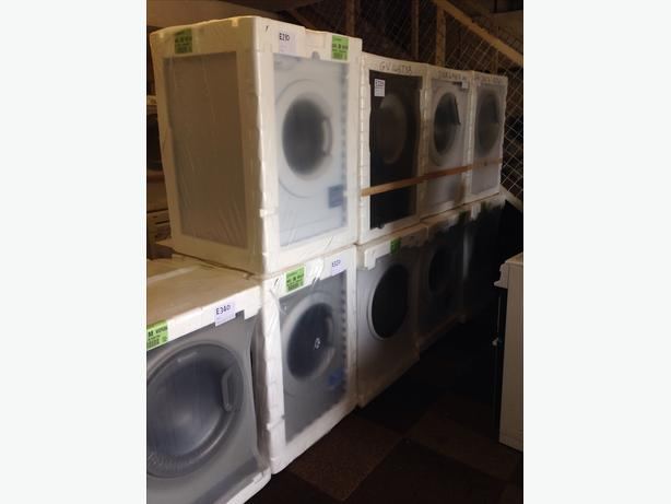 STARTING FROM £210 VARIOUS NEW WASHING MACHINES STILL BOXED