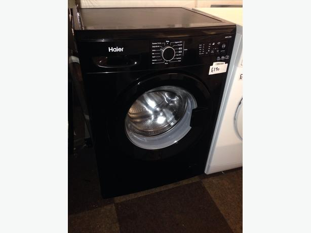HAIER WASHING MACHINE BLACK 1400 SPIN1
