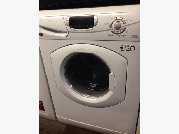 HOTPOINT WASHER DRYER 5+5KG LCD DISPLAY
