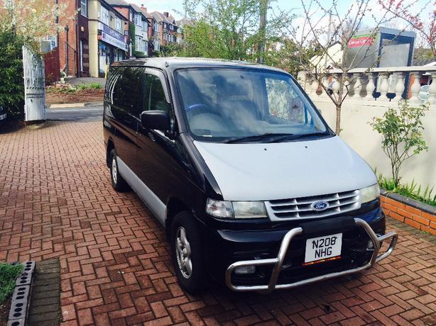 ford freeda camper /8 seater minibus 4 wheel drive 4x4