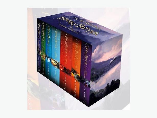 J. K.Rowling Complete Harry Potter Collection 7 Books Box Set