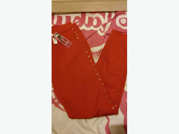 george new with tags red skinny jeans size 12