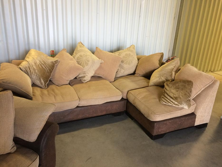 Dfs Corner Sofa And Chair In Good Condition Free Delivery Wednesbury Dudley