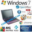 Asus X101CH MINI LAPTOP | NETBOOK 320GB 1GB Windows 7 KODI WEBCAM ITUNES HDMI