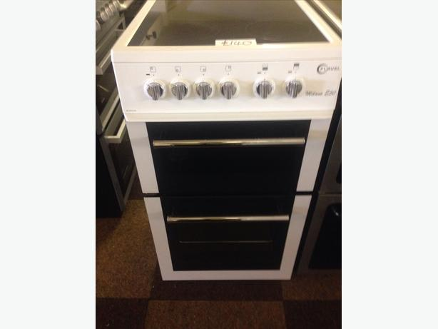FLAVEL ELECTRIC COOKER 50CM WHITE1