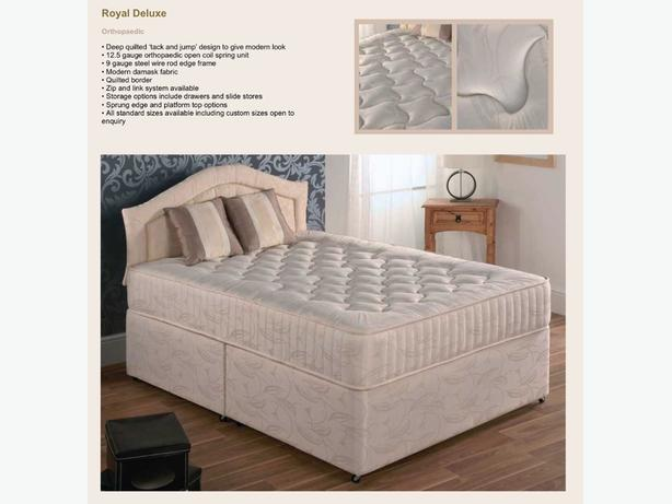 4'6 double royal deluxe bed
