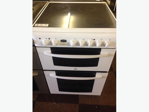 WHITE INDESIT 60CM ELECTRIC COOKER09