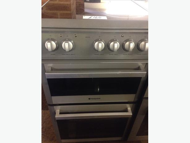 HOTPOINT GREY 50CM ELECTRIC COOKER2