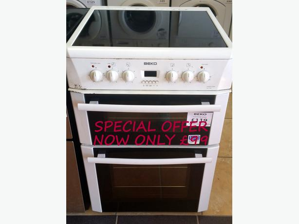 **SPECIAL OFFER** BEKO 60CM ELECTRIC COOKER + WARRANTY