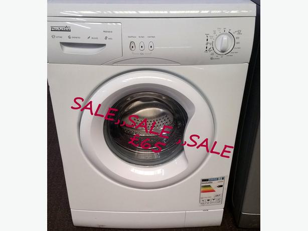 **SALE** PRO ACTION WASHING MACHINE 5KG LOAD 1000 SPIN + WARRANTY