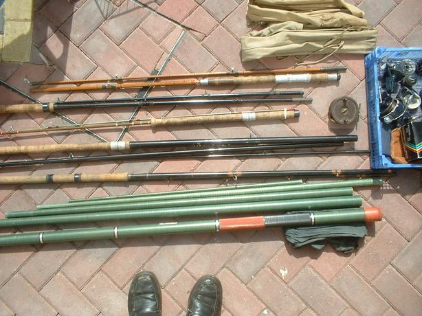 SELECTION OF OLD FISHING GEAR