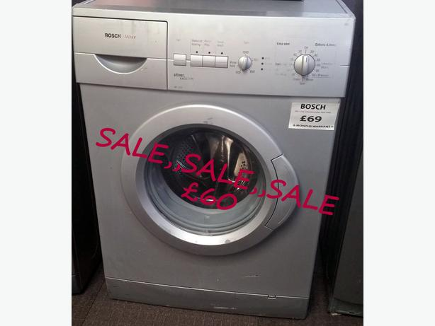 **SALE** BOSCH WASHING MACHINE + WARRANTY