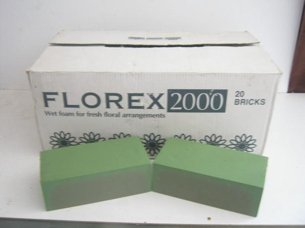 Florex 2000 Wet Foam 20 Bricks
