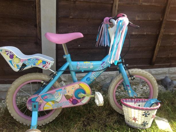 sliverfox sweetie bike