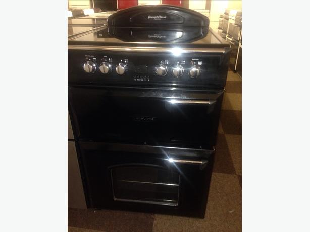 LEISURE ELECTRIC COOKER DOUBLE OVEN 60CM FAN ASSITED