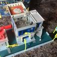 Matchbox Action System - Police Station - Childrens Playset