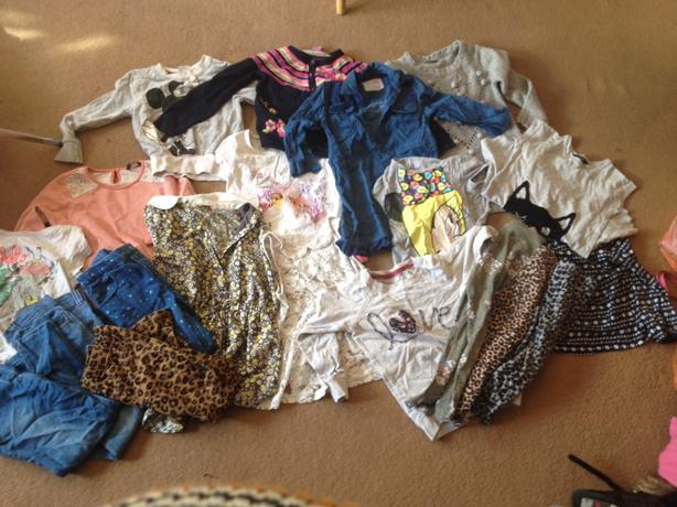 girls clothes sizes 4-5