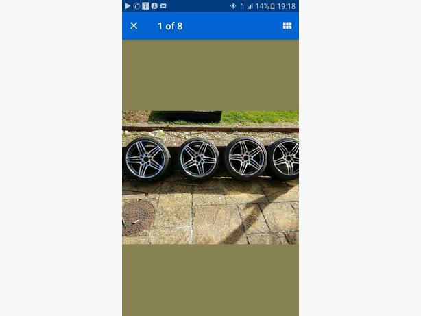 porsche alloys 19in
