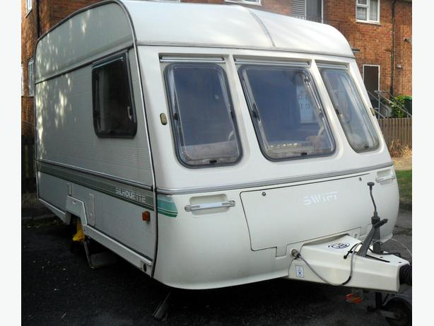 1991  swift  silhouette  2  berth  with  end  kitchen (  Dorema  awning )