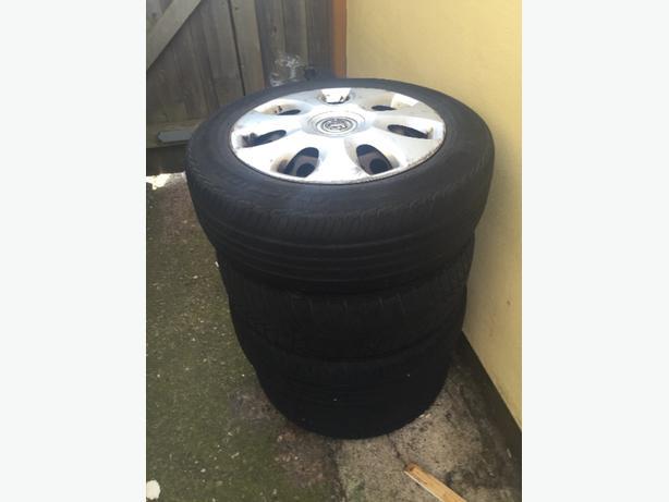 vauxhall corsa wheels