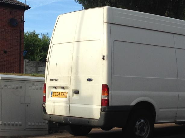 2004 Ford Transit t350 high top van
