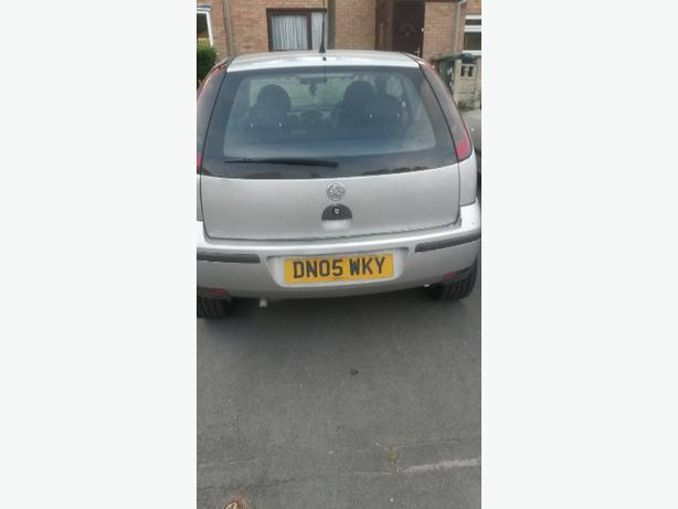 vauxhall corsa 1.0 2005 first to see will take it