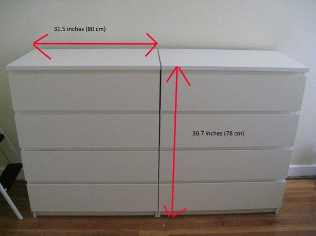 IKEA DRAWERS IN EXCELLENT CONDITION // free delivery