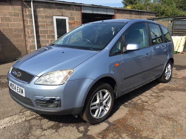 2004 04 FORD CMAX 1.8 LITRE ZETEC - NEEDS ENGINE - SOLD AS SPARES / REPAIRS