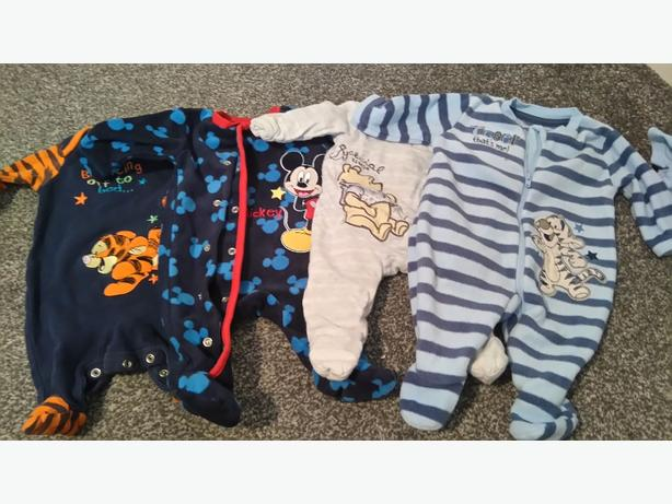 Massive bundle of baby boy clothes