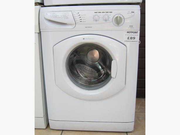 TO CLEAR - Hotpoint 1400 Spin 6kg Washing Machine, 6 Month Warranty