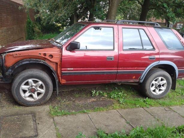 Vauxhall frontera2.5 tubro diesel