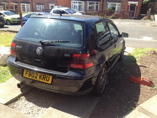 golf mk4 gti turbo conversion for repairs