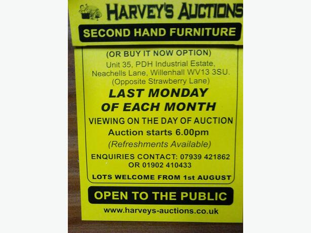 HARVEY'S AUCTIONS (FURNITURE)