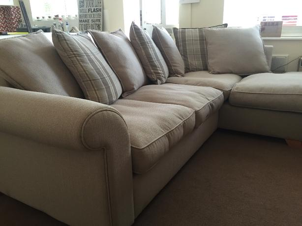 DFS Rupert Corner Sofa *HARDLY USED, EXCELLENT CONDITION*