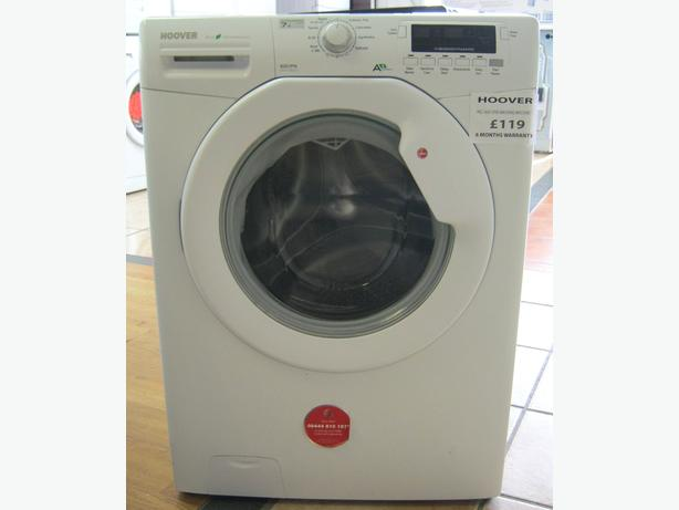 Hoover Large Capacity Washine Machine, 7kg Load, 1600 Spin, 6 Month Cover