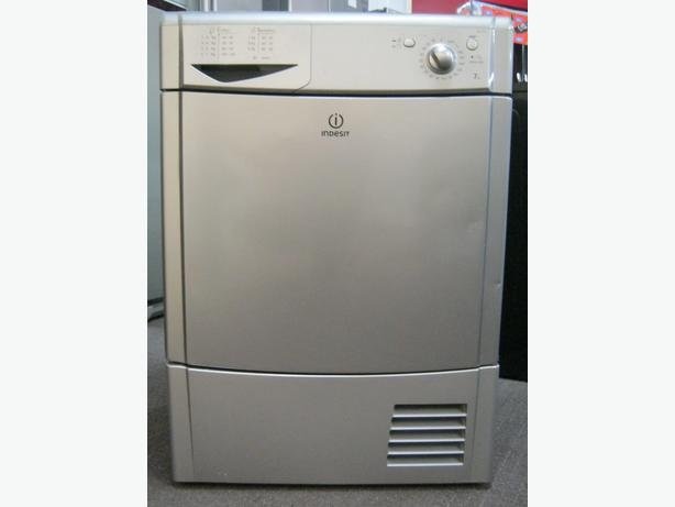 Indesit Silver 7kg Full Size Condenser Tumble Dryer with 6 Month Warranty