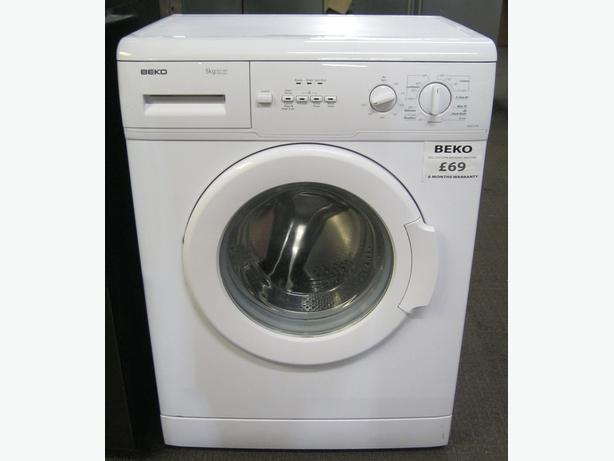 Beko 5kg 1000 Spin Washing Machine, 6 Month Warranty