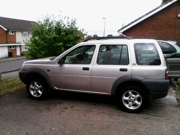 Freelander 2001 1.8 petrol mot July 17 p.ex considered read ad