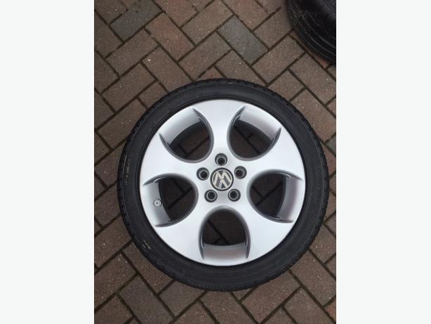 vw golf gti mk5 genuine monza alloy wheel