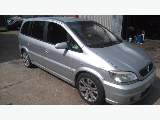 vauxhall zafira gsi breaking for spare parts